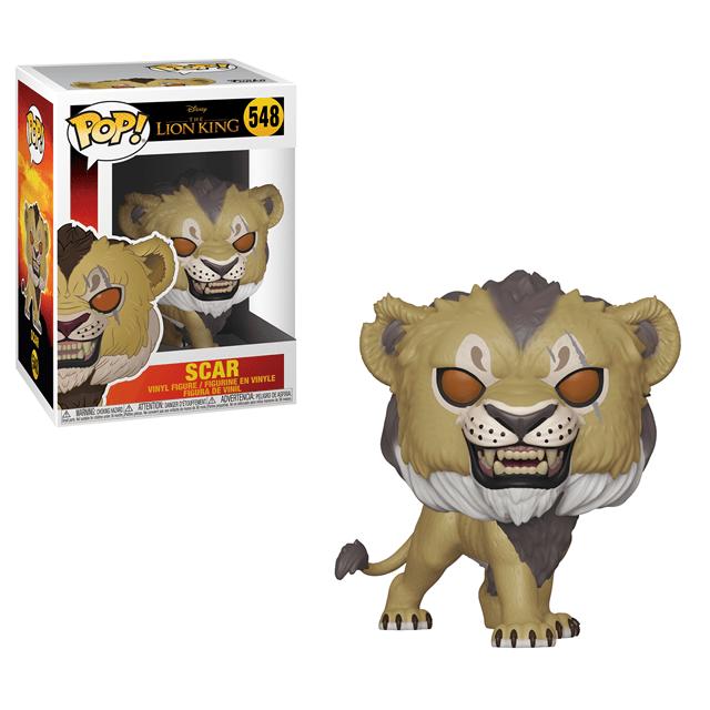 Scar (548) Lion King (Live Action) Disney Pop Vinyl - 1