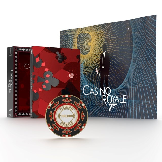 Casino Royale Titans of Cult Limited Edition 4K Ultra HD Blu-ray Steelbook - 1