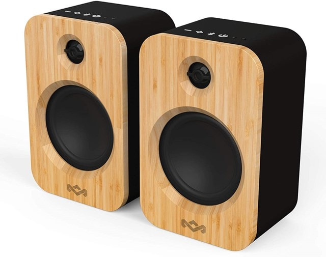 House Of Marley Get Together Duo Bluetooth Bookshelf Speakers - 1