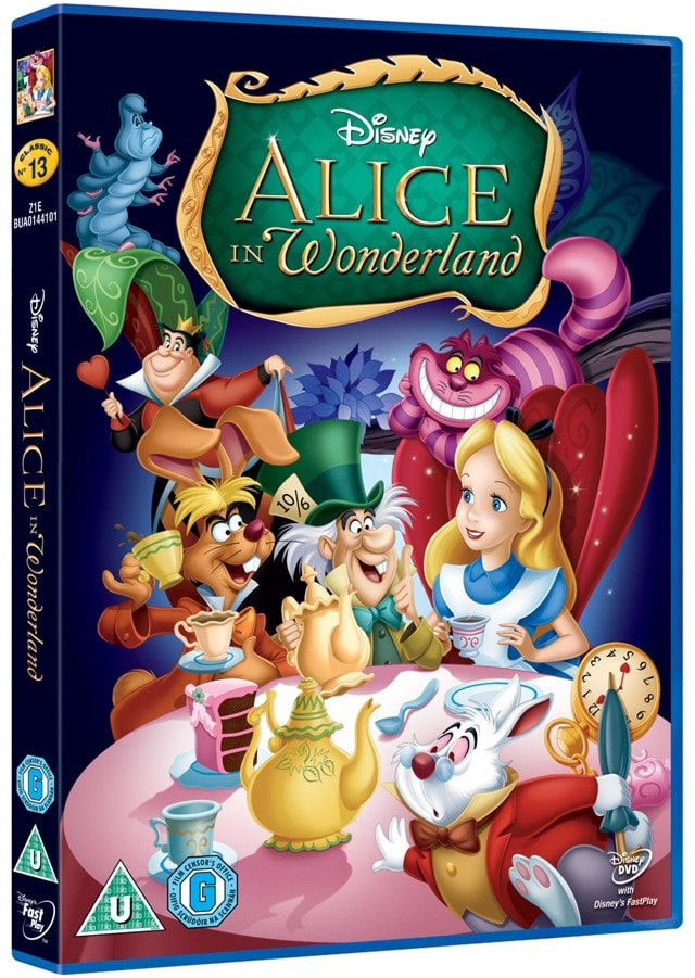 Alice in Wonderland (Disney) - 4