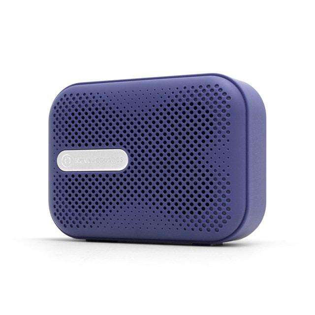 Muve Acoustic Box Blue Bluetooth Speaker - 1