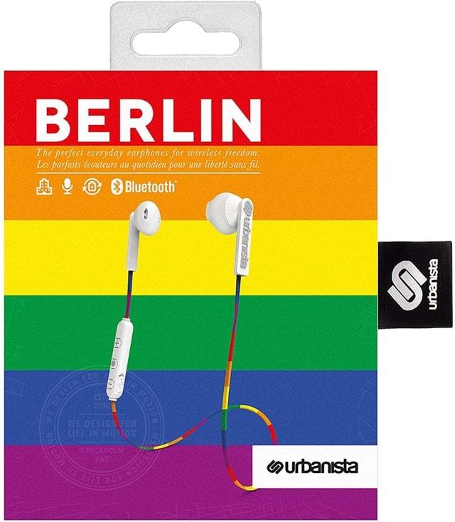 Urbanista Berlin Rainbow Bluetooth Earphones - 2
