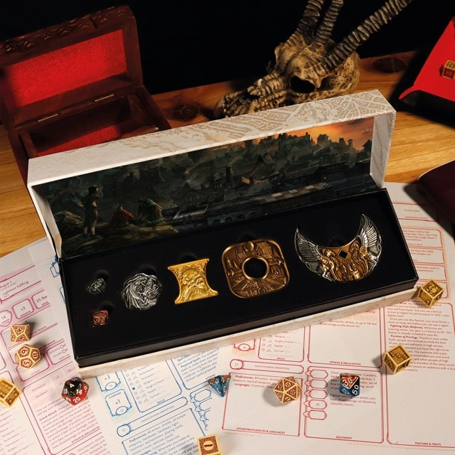 Dungeons & Dragons Replica Coin Set - 6