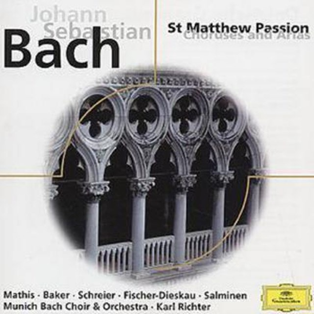 St. Matthew Passion - Choruses and Arias (Richter) - 1