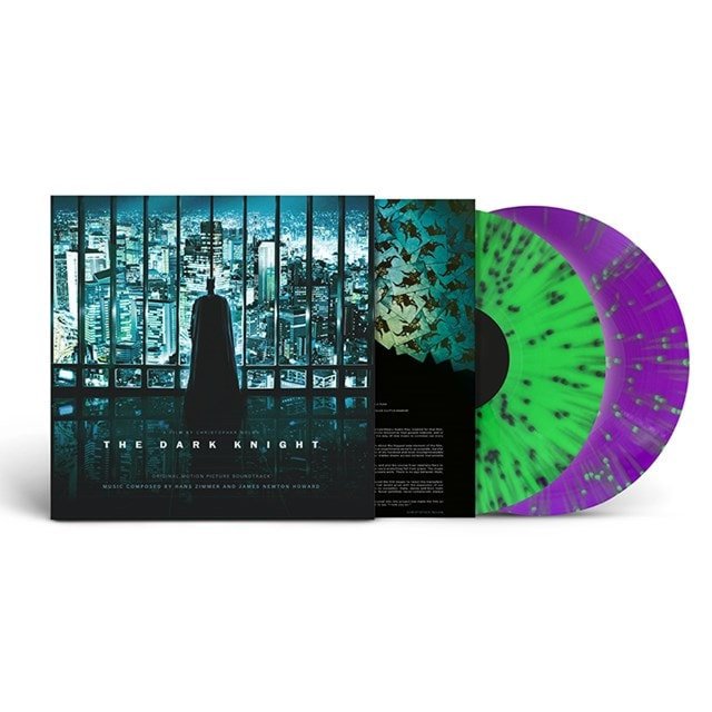 The Dark Knight: Original Motion Picture Soundtrack - Limited Edition Neon Green and Violet Splatter - 1