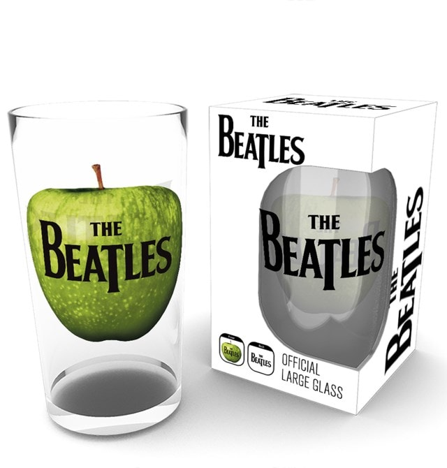 The Beatles Apple Logo Large Glass - 1