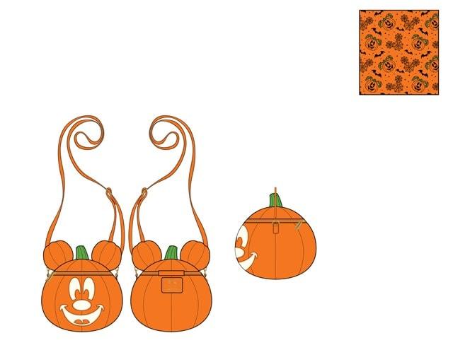 Disney: Mick-O-Lantern Crossbody Loungefly Bag - 1