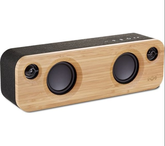 House Of Marley Get Together Mini Signature Black Bluetooth Speaker - 1