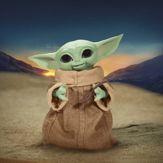 Star Wars Galactic Snackin' Grogu Integrated Play Soft Toy - 1