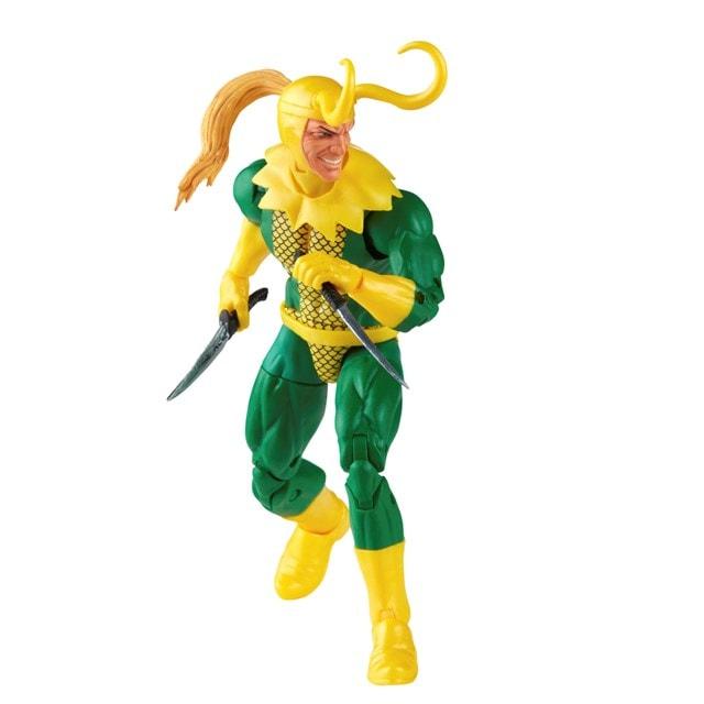 Loki: Retro Hasbro Marvel Legends Series Action Figure - 7