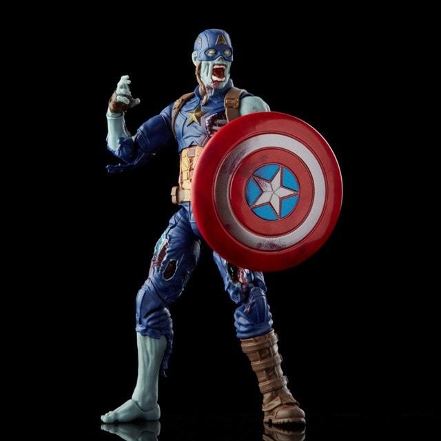 Zombie Captain America: Hasbro Marvel Legends Series Action Figure - 1