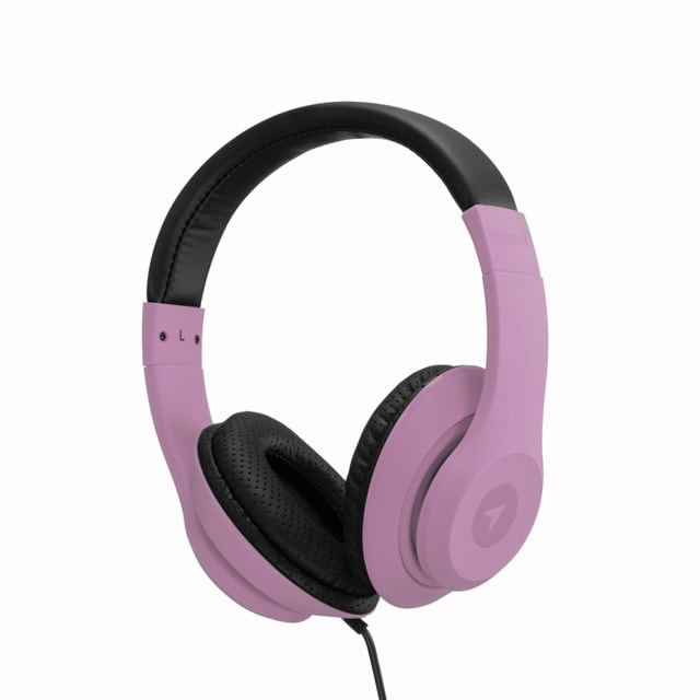Roam Colours Dusty Pink Headphones w/Mic (hmv Exclusive) - 1