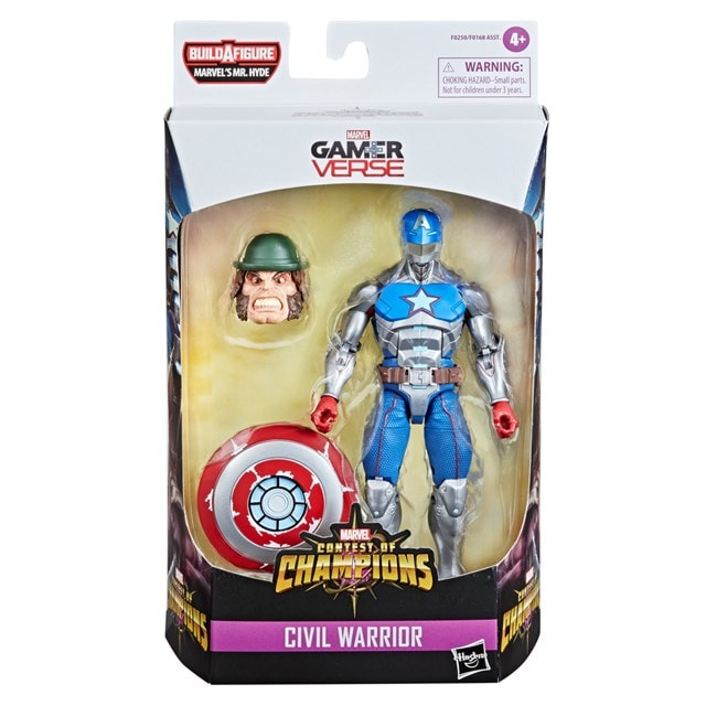 Civil Warrior: Contest Of Champions: Marvel Gamer Verse Action Figure - 5