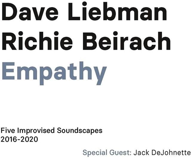 Empathy: Five Improvised Soundscapes 2016-2020 - 1
