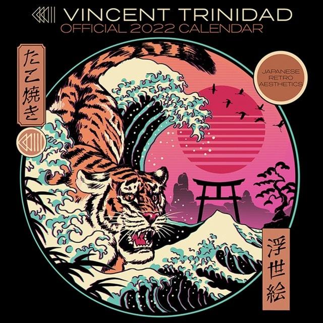 Vincent Trinidad: Square 2022 Calendar - 1