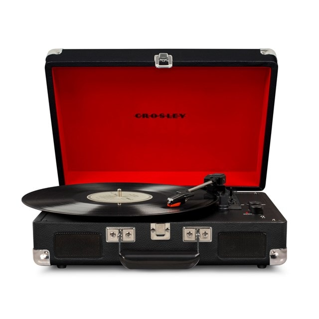 Crosley Cruiser Deluxe Black Turntable - 1