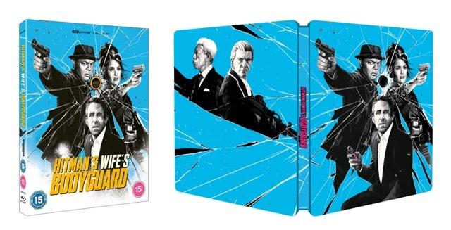 The Hitman's Wife's Bodyguard Limited Edition 4K Ultra HD Steelbook - 1