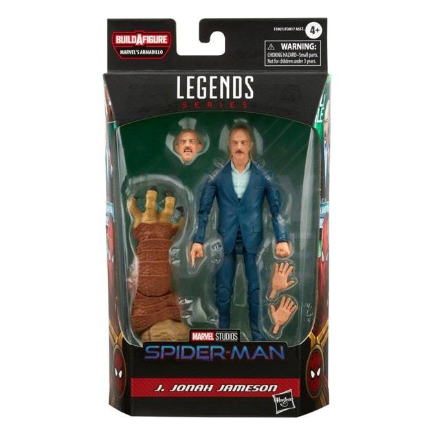 J. Jonah Jameson Spider-Man: 'Marvel Legends Series Action Figure - 12