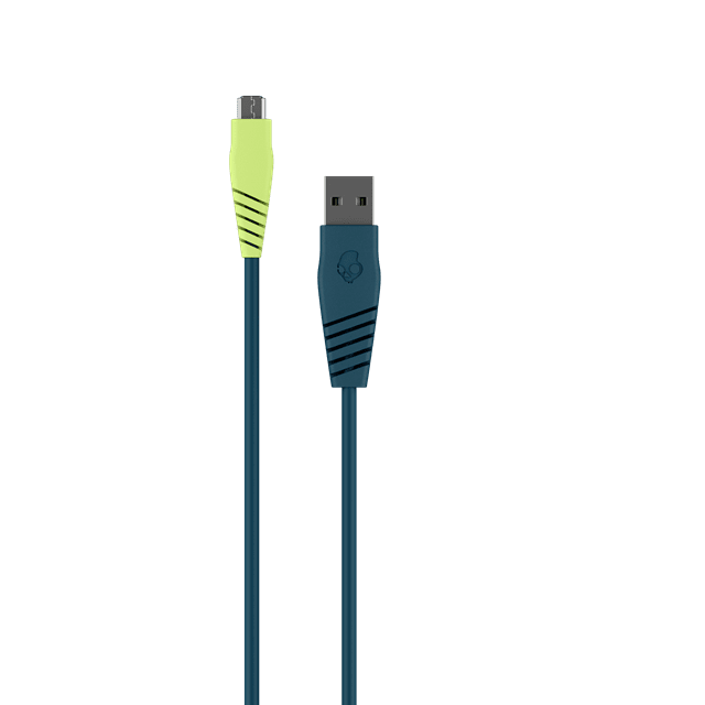 Skullcandy Round Micro USB Psycho Tropical Charge & Sync Cable 1.2m - 1