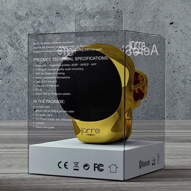 Jarre AeroSkull Nano Chrome Gold Bluetooth Speaker - 2