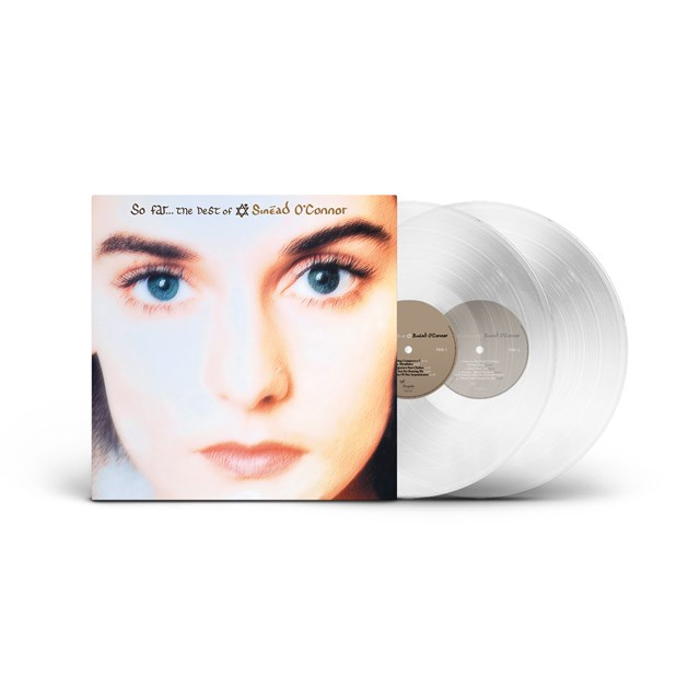 So Far... The Best of Sinead of O'Connor (Clear Vinyl) [NAD 2021] - 1