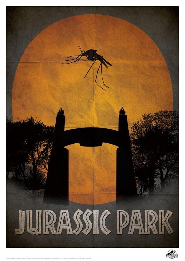 Jurassic Park: Gate Limited Edition Print - 1