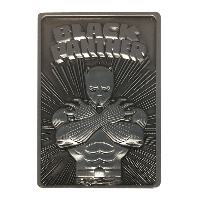 Black Panther: Marvel Limited Edition Ingot Collectible - 3