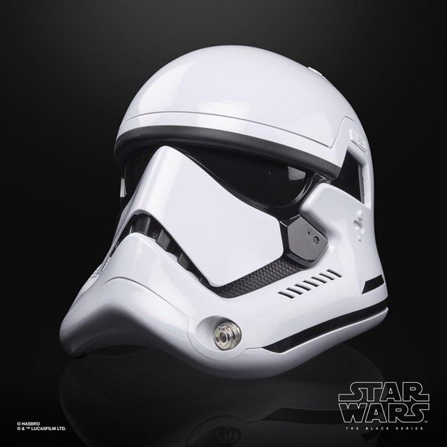 First Order Stormtrooper Electronic Helmet: Star Wars Black Series - 2