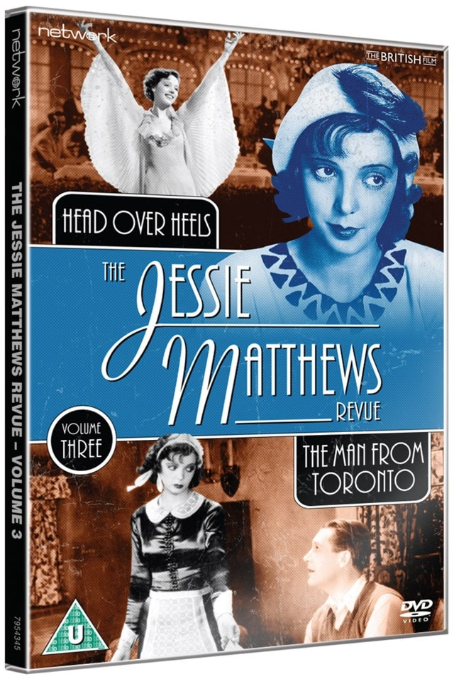 The Jessie Matthews Revue: The Man from Toronto/Head Over Heels - 2