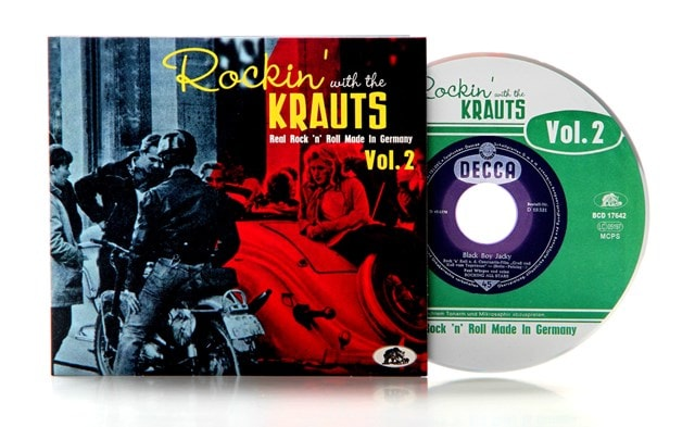 Rockin' With the Krauts: Real Rock 'N' Roll Made in Germany - Volume 2 - 2
