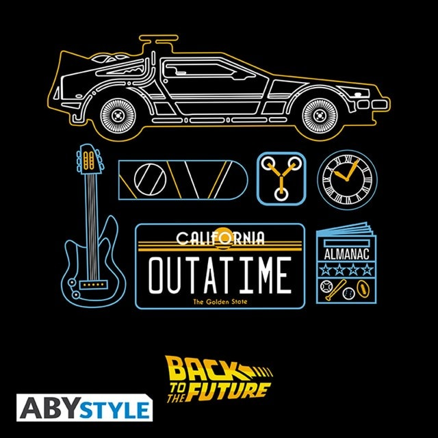 Back To The Future: Delorean (Extra Large) - 2
