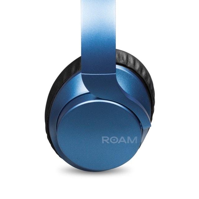Roam R-Lab Metallic Blue Bluetooth Active Noise Cancelling Headphones - 2
