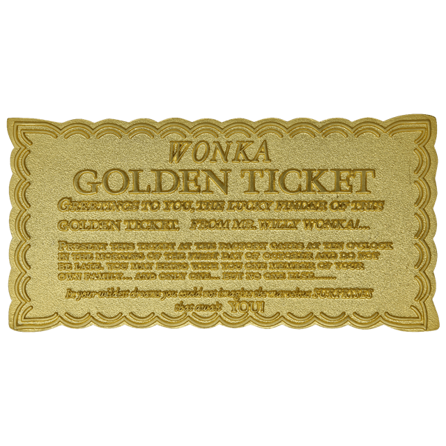 Willy Wonka: Golden Ticket Limited Edition Collectible - 3