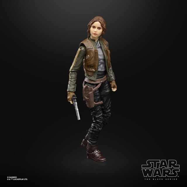 Jyn Erso Rogue One Star Wars Black Series Action Figure - 3