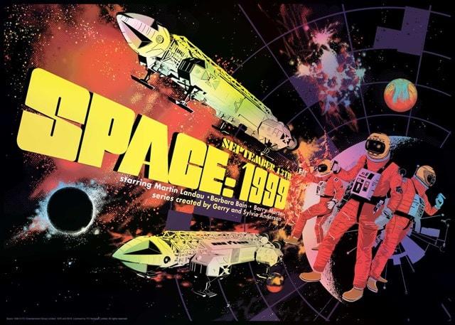 Space: 1999: Raid71 Art Print - 1