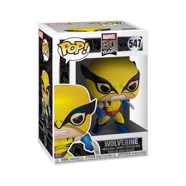 Wolverine: First Appearance (547) Marvel 80th Anniversary Pop Vinyl - 2