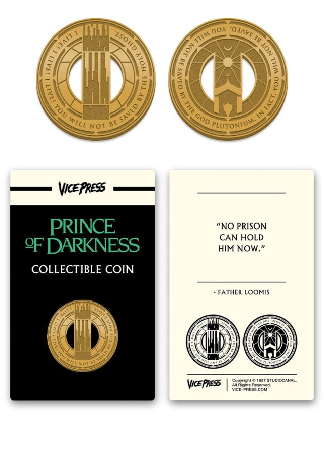 Prince Of Darkness: Collector's Coin - 3
