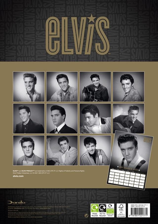 Elvis A3 2022 Calendar - 2