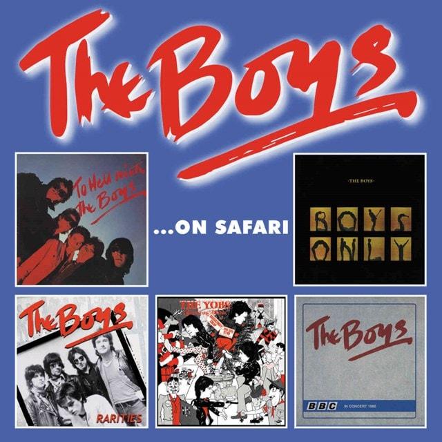 The Boys On Safari - 1