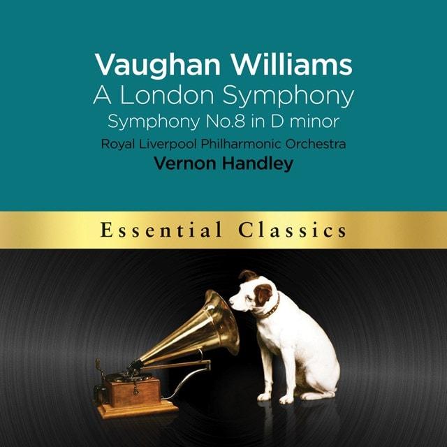 Vaughan Williams: A London Symphony/Symphony No. 8 in D Minor - 1