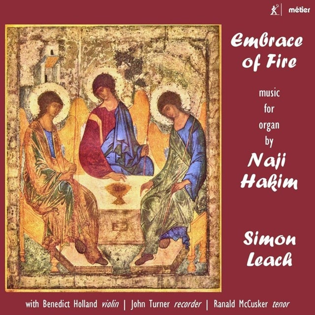 Embrace of Fire: Music for Organ By Naji Hakim - 1
