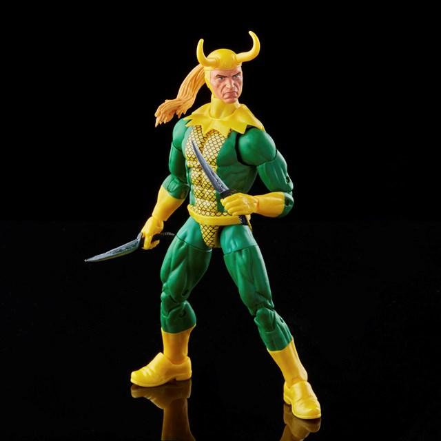 Loki: Retro Hasbro Marvel Legends Series Action Figure - 1