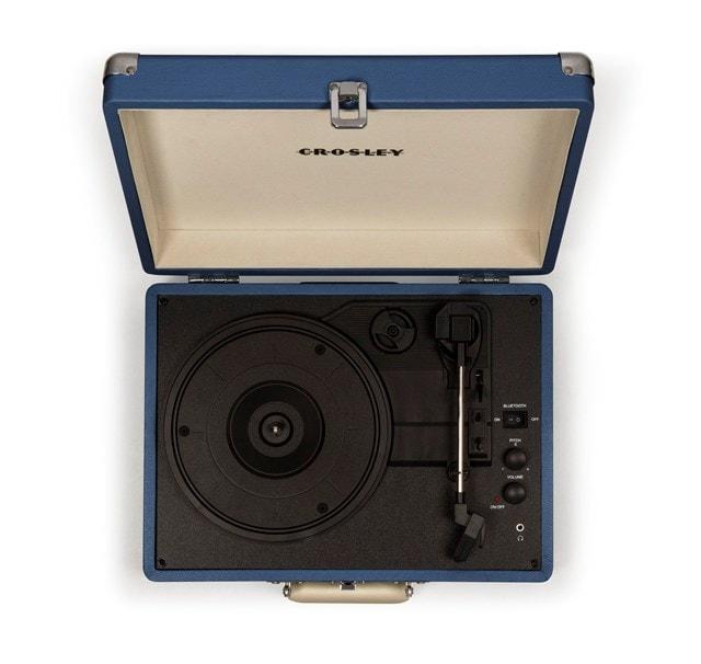 Crosley Cruiser Deluxe Blue Turntable - 6