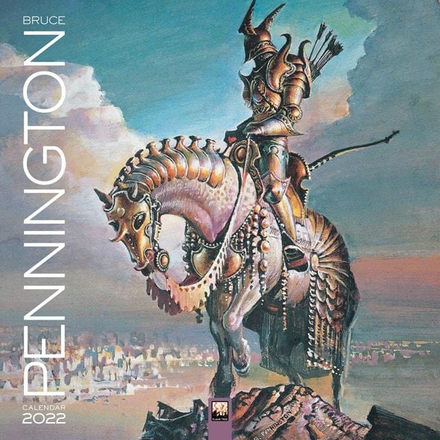 Bruce Pennington Square 2022 Calendar - 1