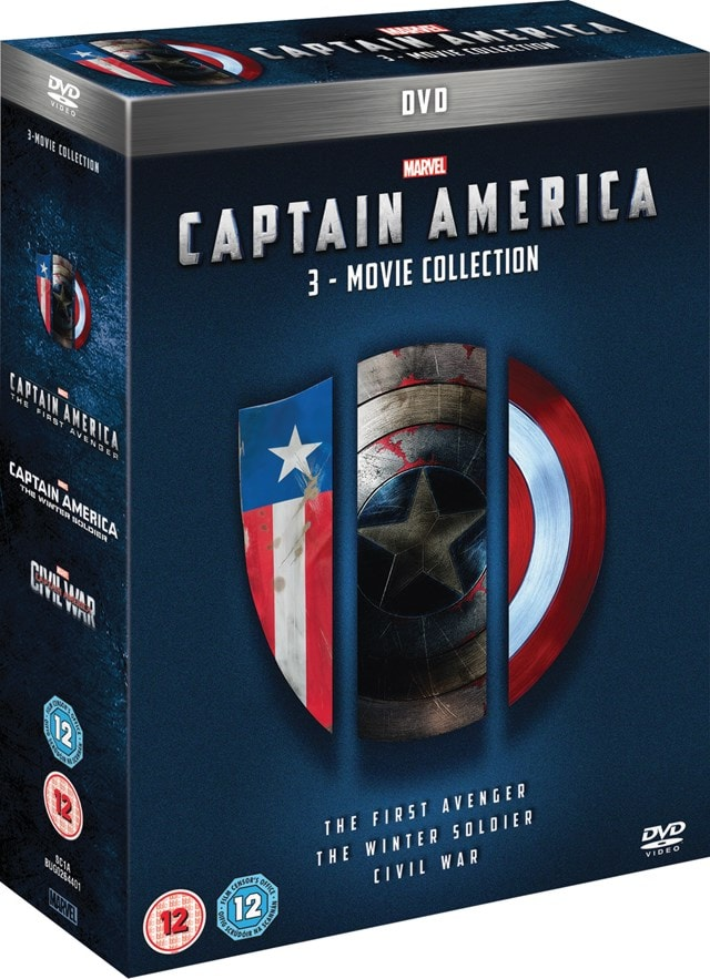 Captain America: 3-movie Collection - 2