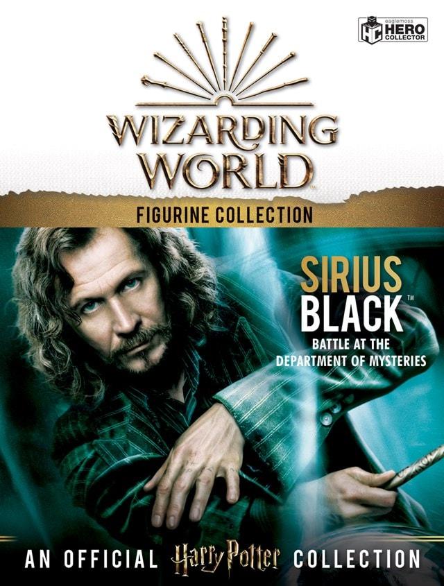 Sirius Black: Harry Potter 1:16 Figurine With Magazine: Hero Collector - 5