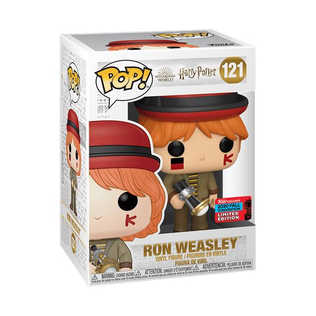 Ron Weasley at World Cup (121) Harry Potter NYCC 2020 (hmv Exclusive) Pop Vinyl - 2
