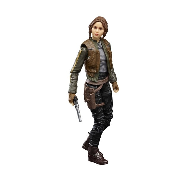 Jyn Erso Rogue One Star Wars Black Series Action Figure - 8