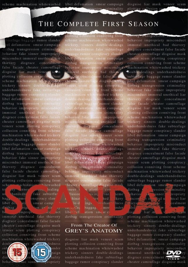 Scandal: The Complete First Season - 1
