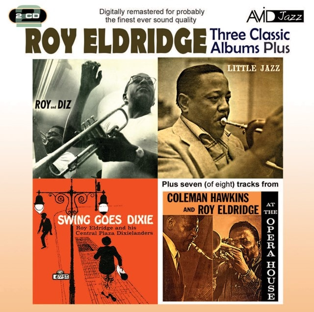 Three Classic Albums Plus: Roy and Diz/Little Jazz/Swing Goes Dixie/At the Opera House - 1